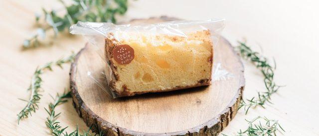 ホワイトチョコチップシフォンケーキ