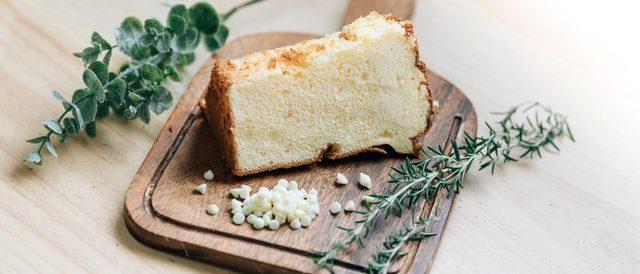 ホワイトチョコチップシフォンケーキ1
