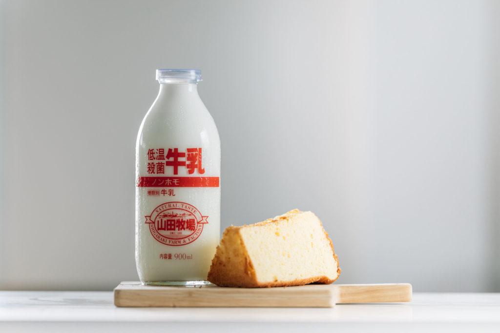 信楽高原 山田牧場さんの牛乳